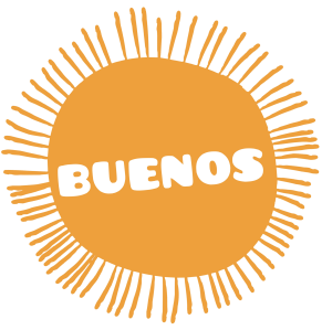 BUENOS naturalne ice tea logo male